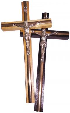 Хрест дерев'яний із Розп'яттям (14 см)